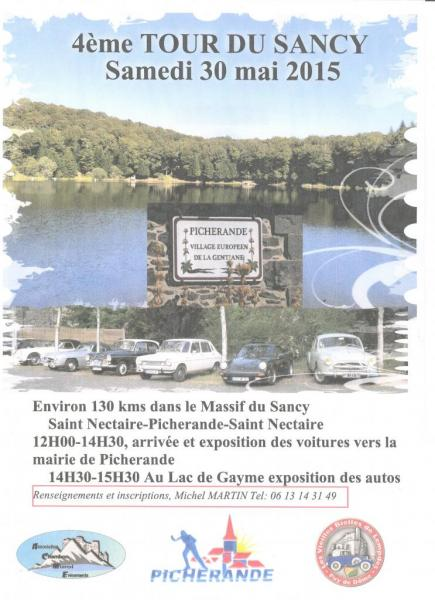 Tour du Sancy 2015