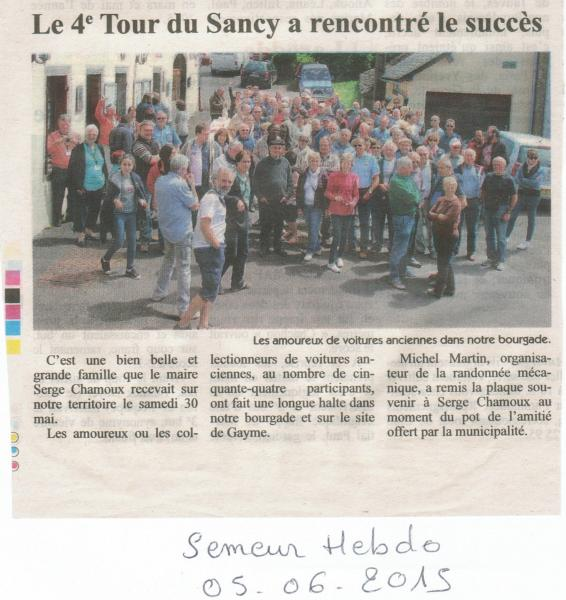 Le semeur 05 06 2015 tour sancy